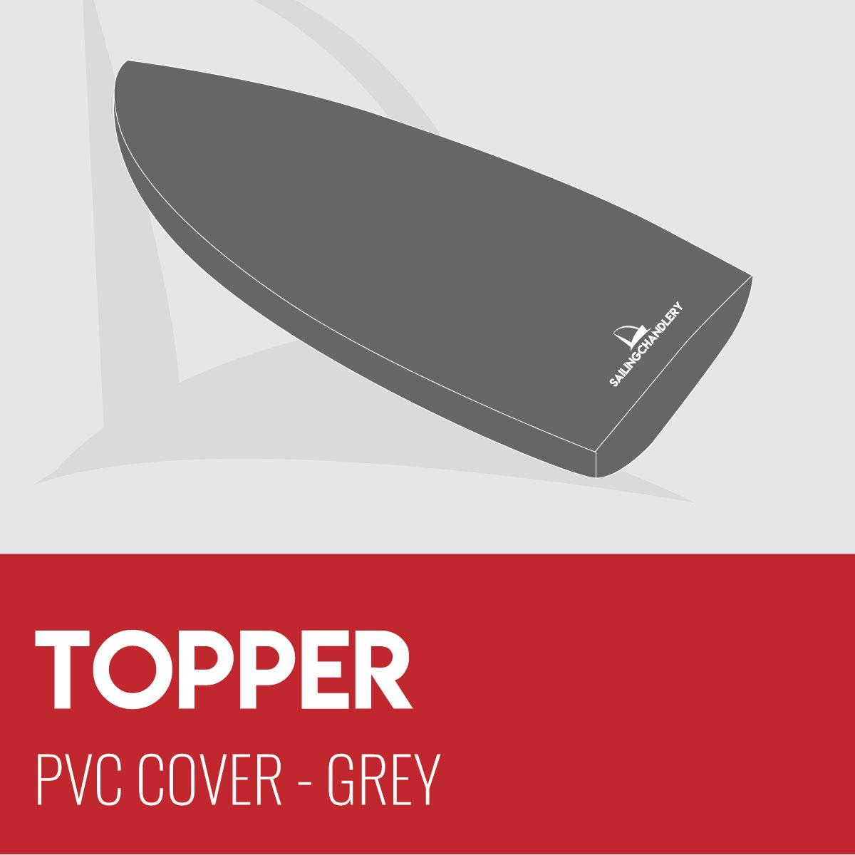 Topper Boat Cover - PVC - Grey