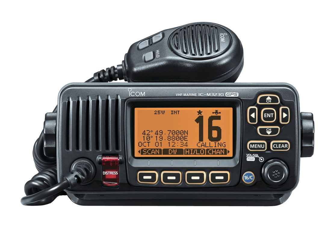 iCom IC-M323G Compact VHF/DSC Radio with GPS