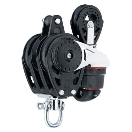 Harken 57mm Triple Carbo Ratchet Block with Swivel