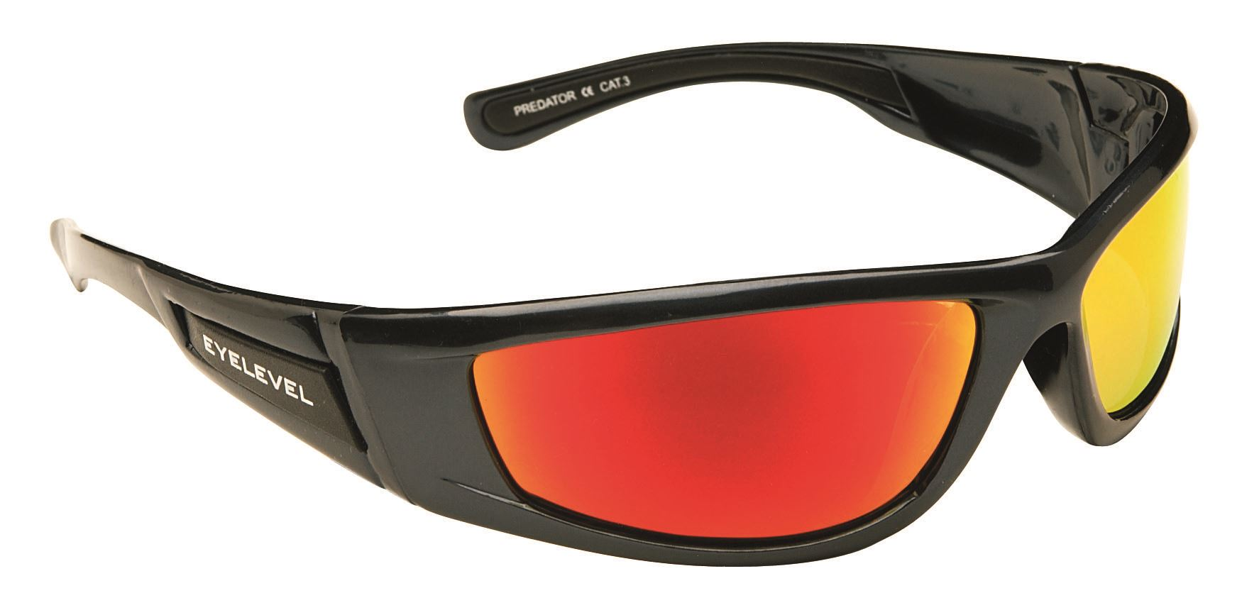 Predator Sunglasses - Red Lens