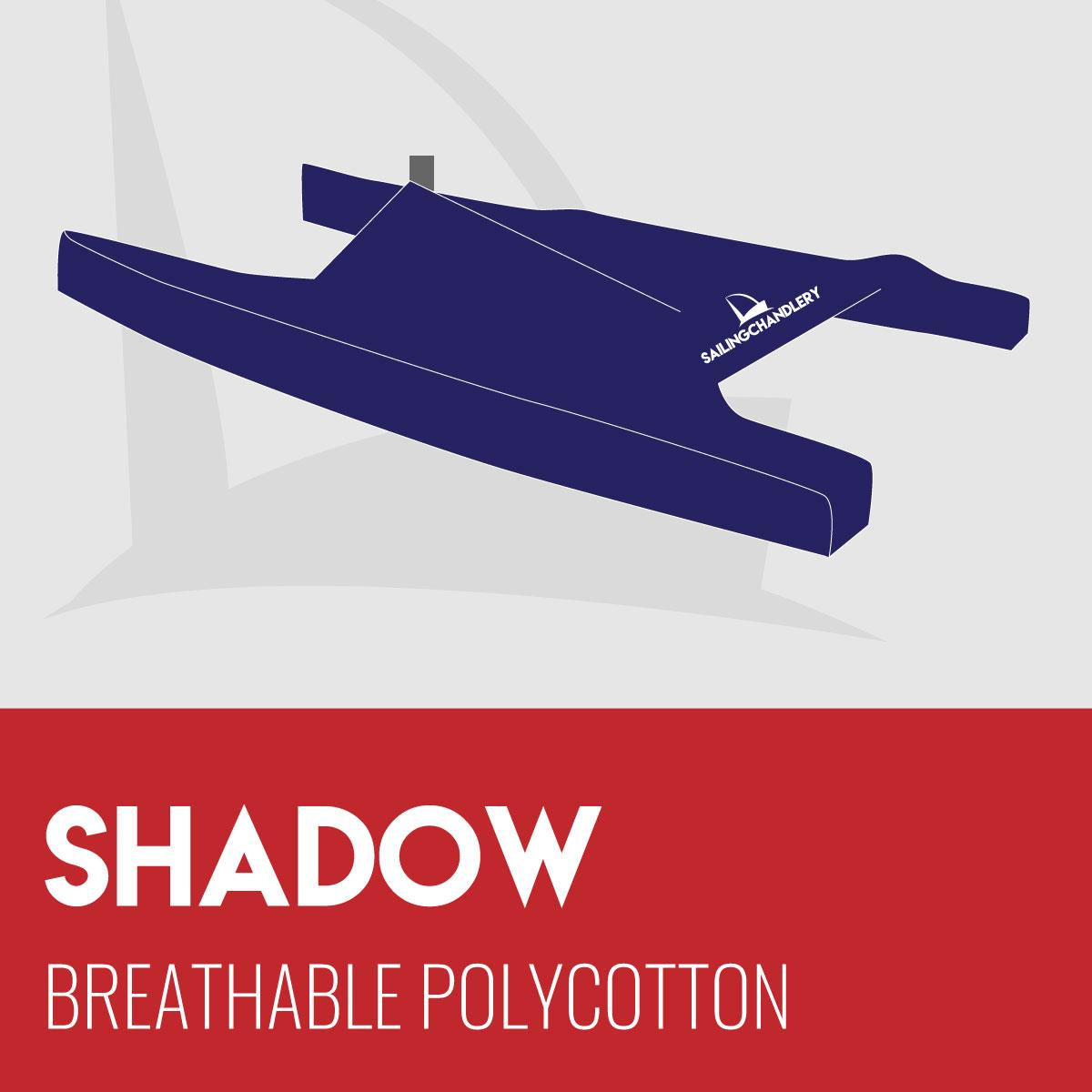 Shadow Boat Cover - Breathable PVC Polycotton