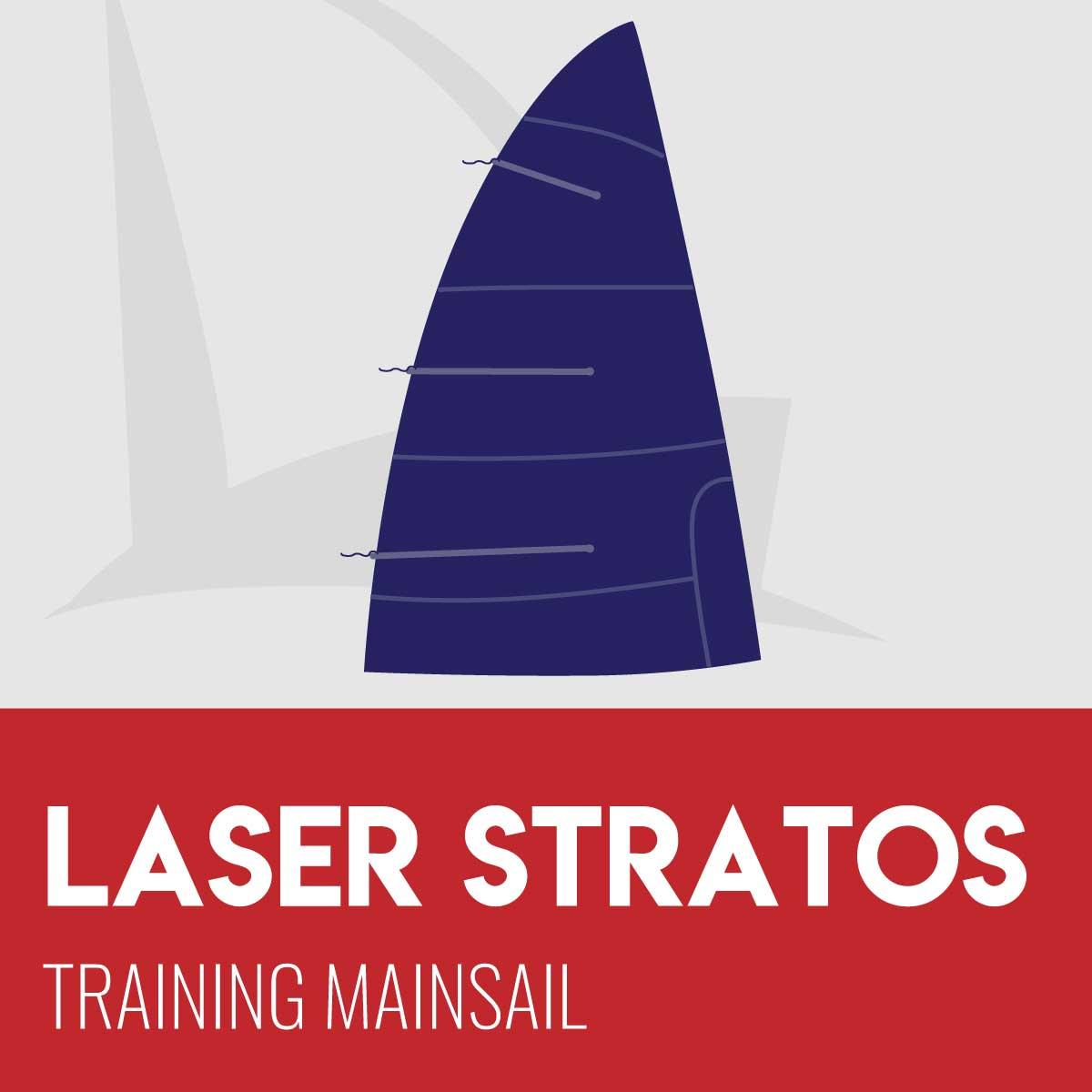 Laser Stratos Training Mainsail