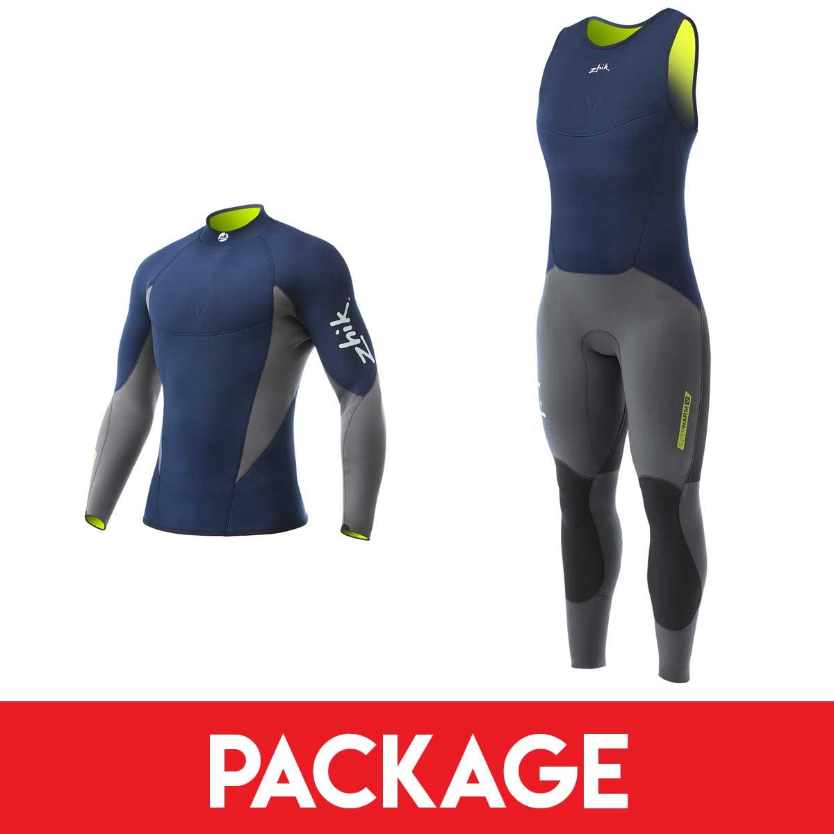 Mens Zhik Superwarm V Sailing Wetsuit Package