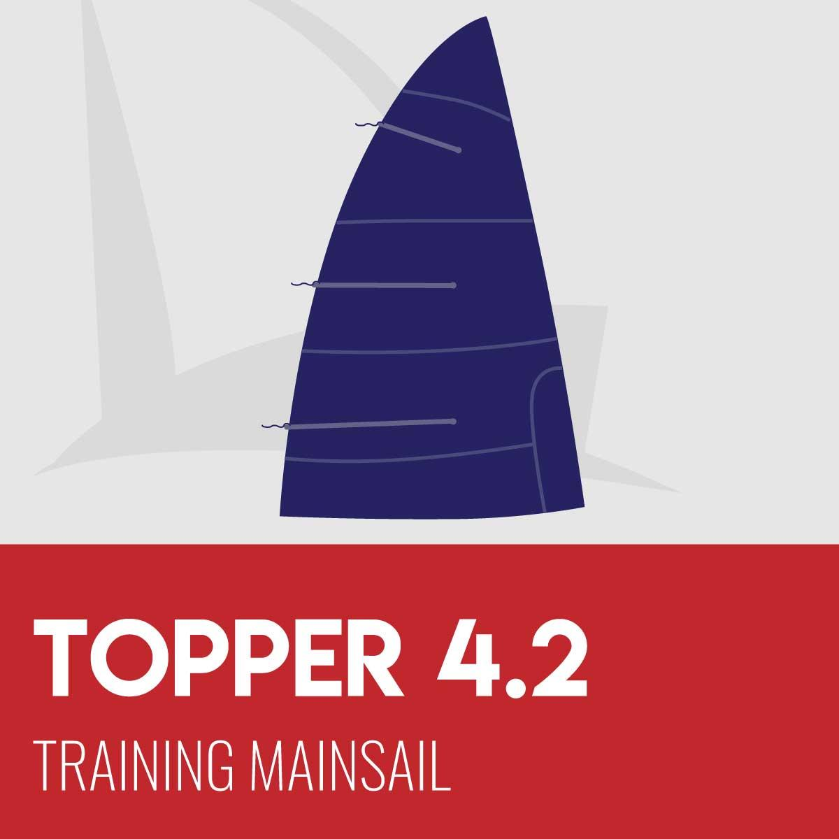 Topper 4.2 Training Mainsail
