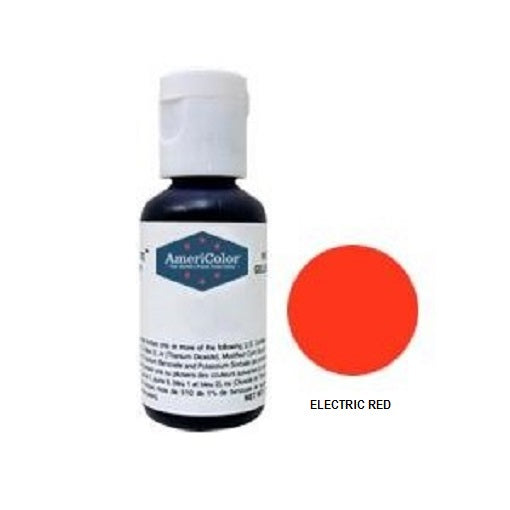 AmeriColor Soft Gel Paste Electric Red 21g (0.75 oz)