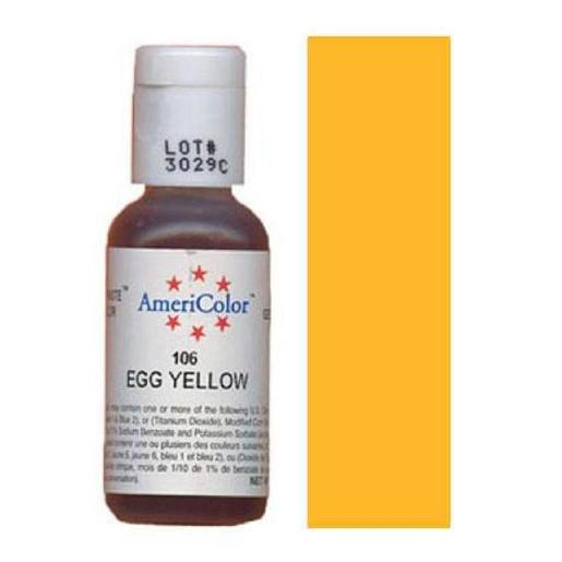AmeriColor Soft Gel Paste Egg Yellow 21g (0.75 oz)