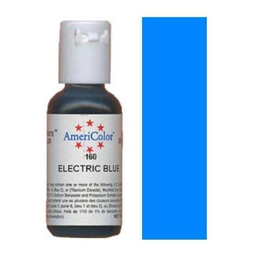 AmeriColor Soft Gel Paste Electric Blue 21g (0.75 oz)
