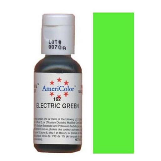 AmeriColor Soft Gel Paste Electric Green 21g (0.75 oz)