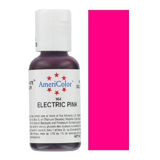 AmeriColor Soft Gel Paste Electric Pink 21g (0.75 oz)