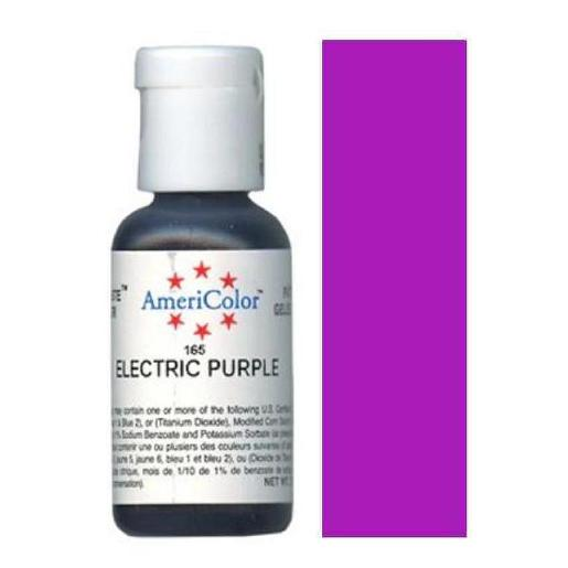 AmeriColor Soft Gel Paste Electric Purple 21g (0.75 oz)
