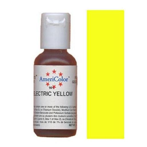 AmeriColor Soft Gel Paste Electric Yellow 21g (0.75 oz)