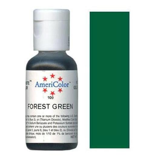 AmeriColor Soft Gel Paste Forest Green 21g (0.75 oz)