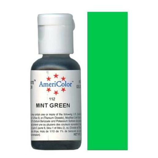 AmeriColor Soft Gel Paste Mint Green 21g (0.75 oz)