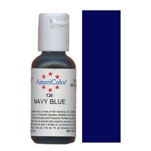 AmeriColor Soft Gel Paste Navy Blue 21g (0.75 oz)