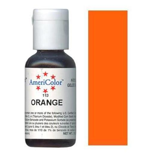 AmeriColor Soft Gel Paste Orange 21g (0.75 oz)