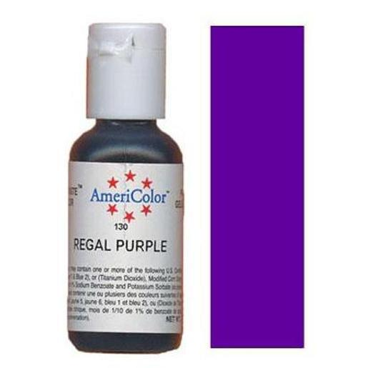 AmeriColor Soft Gel Paste Regal Purple 21g (0.75 oz)