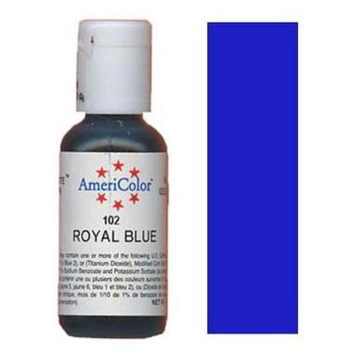 AmeriColor Soft Gel Paste Royal Blue 21g (0.75 oz)