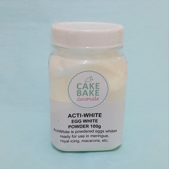 Egg White Meringue Powder (acti-white) 100g