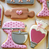 Ann Clark Piping Bag Cookie Cutter by Flour Box Bakery