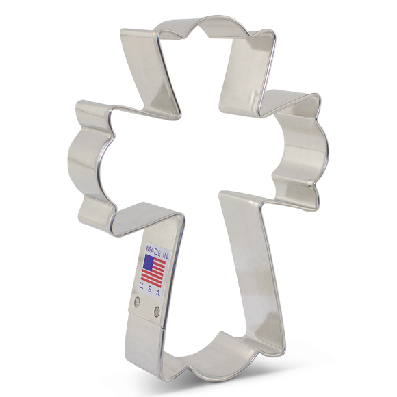 Ann Clark Fancy Cross Cookie / Biscuit Cutter 12.5cm