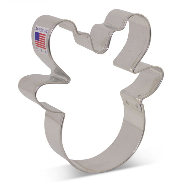 Ann Clark Reindeer Head cookie cutter by Flour Box Bakery 9.5cm