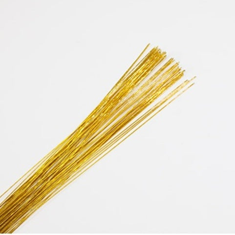 Metallic Gold Wire 24 gauge (50 strands)