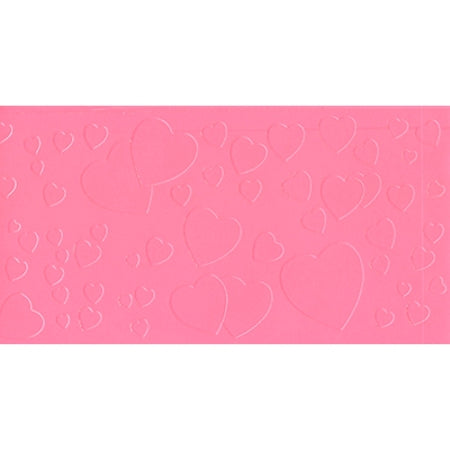 Icing Impression Mat - Floating Hearts