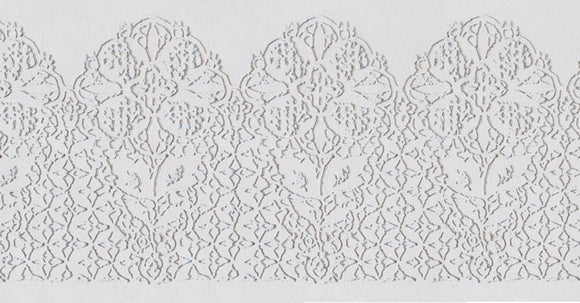 Icing Impression Mat - Scallop Lace
