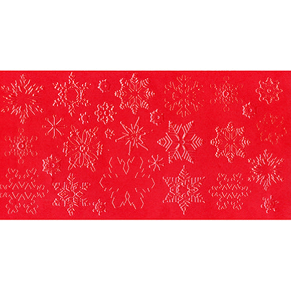 Icing Impression Mat - Snowflakes