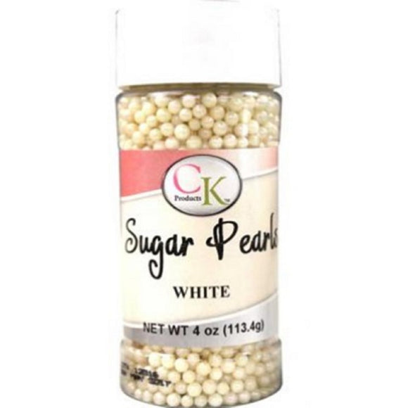 CK White Sugar Pearls 113g