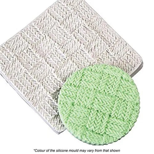 Crochet Weave Silicone Mat