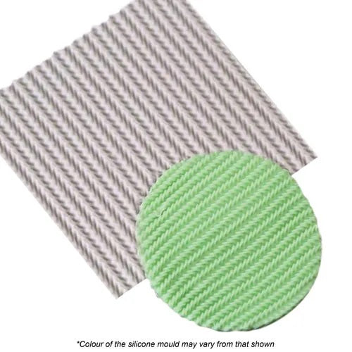 Knitting Weave Silicone Mat