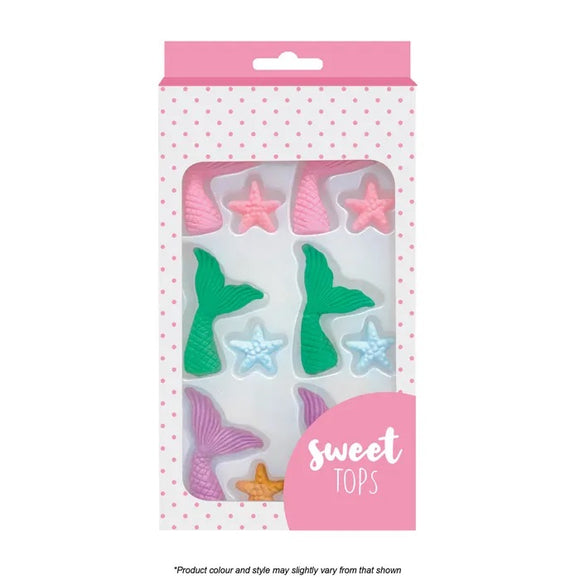 Sweet Tops Edible Mermaid Decoration Kit
