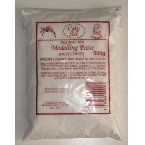 Cake Art Modelling Paste Powder Mix (Pastillage) 500g