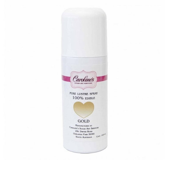 Caroline's Lustre Spray 100ml - Gold