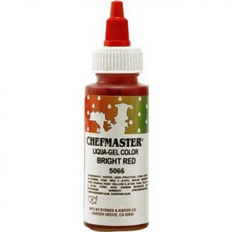 Chefmaster Bright Red Liqua-gel 65g (2.3 oz)