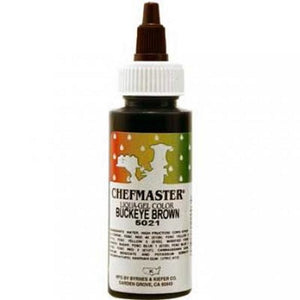 Chefmaster Buckeye Brown Liqua-gel 65g (2.3 oz)