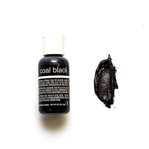 Chefmaster Coal Black Liqua-gel 21g (0.75 oz)