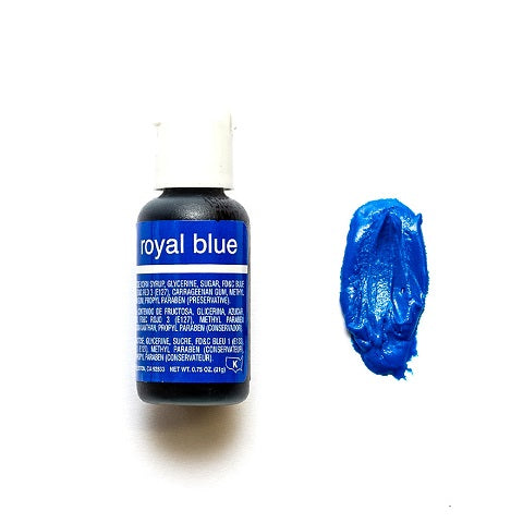 Chefmaster Royal Blue Liqua-gel 21g (0.75 oz)