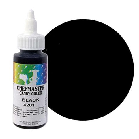 Chefmaster Liquid Candy Colour Black 56g