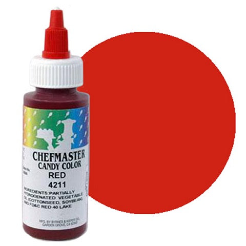 Chefmaster Liquid Candy Colour Red 56g