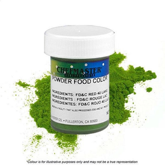 Chefmaster Powder Candy Colour Green 3g