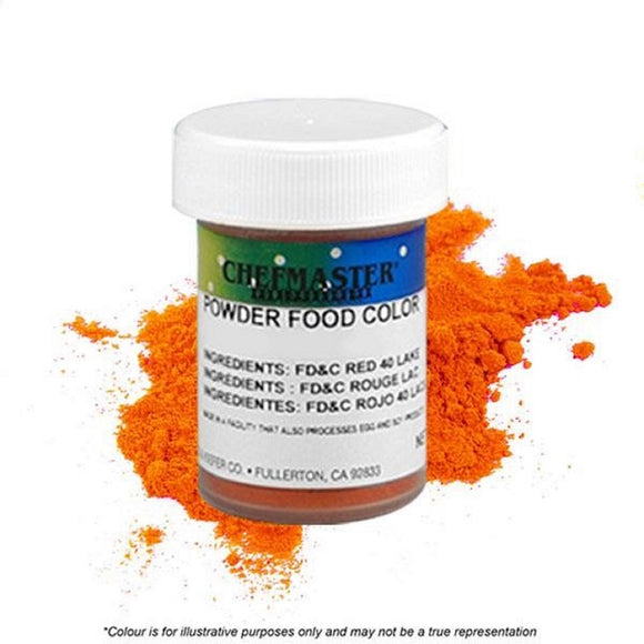 Chefmaster Powder Candy Colour Orange 3g