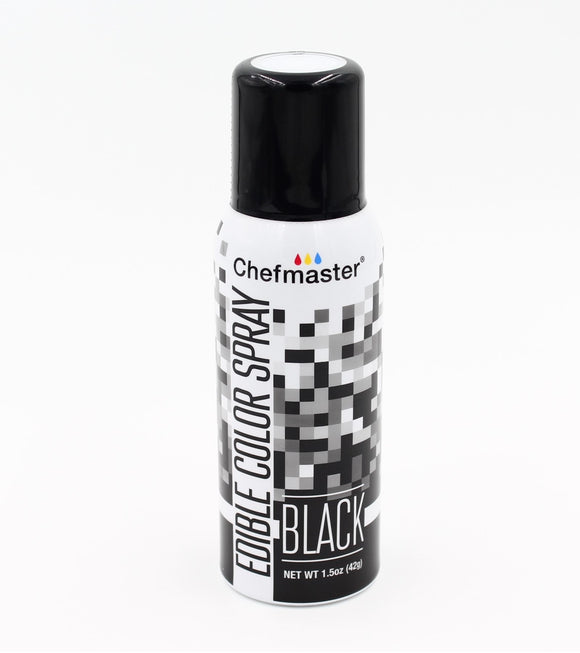 Chefmaster Edible Colour Spray Black 42g