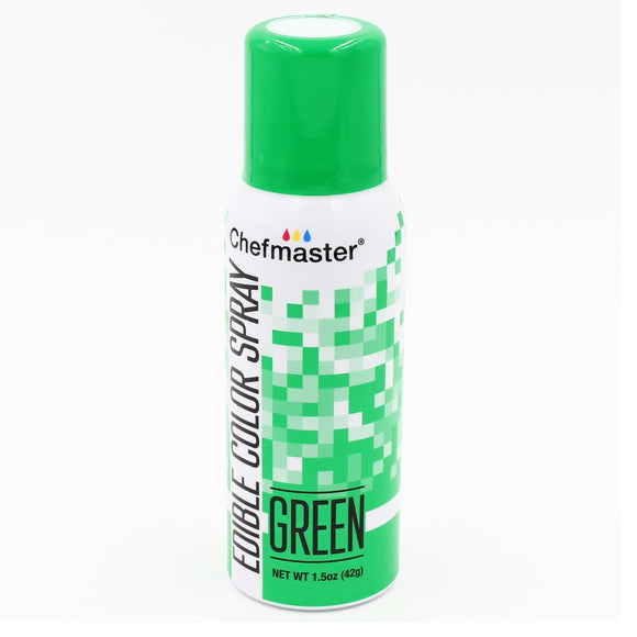 Chefmaster Edible Colour Spray Green 42g
