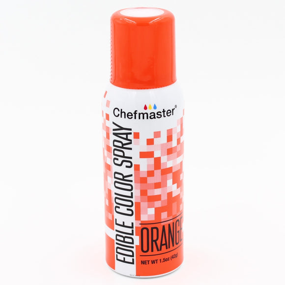 Chefmaster Edible Colour Spray Orange 42g