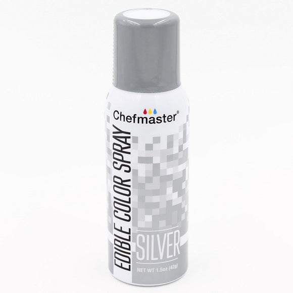Chefmaster Edible Colour Spray Silver 42g