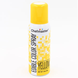 Chefmaster Edible Colour Spray Yellow 42g