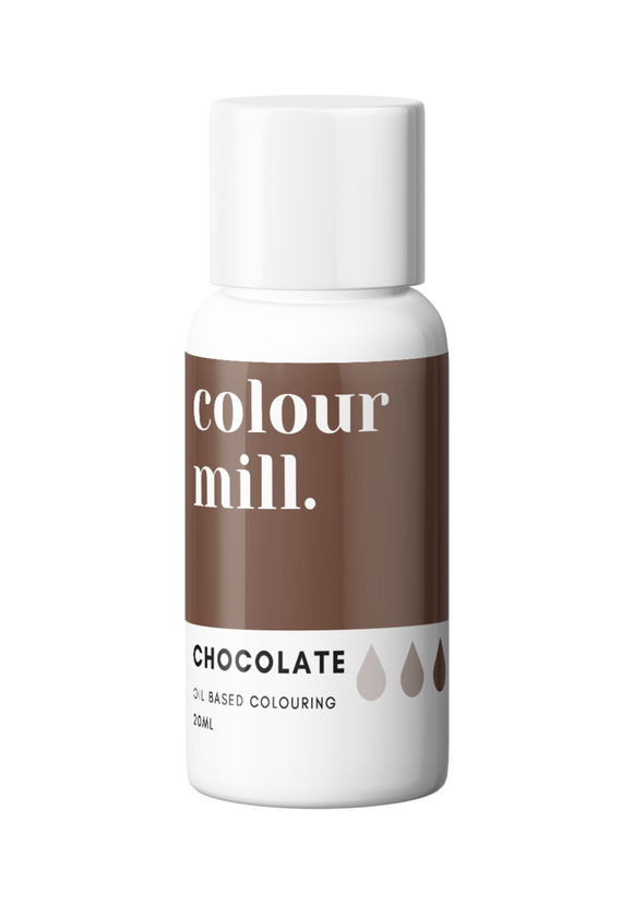 Colour Mill Chocolate Brown Oil Based Colouring 20ml
