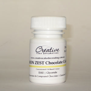 Creative Cake Decorating Oil Chocolate Colour 20g - Lemon Zest
